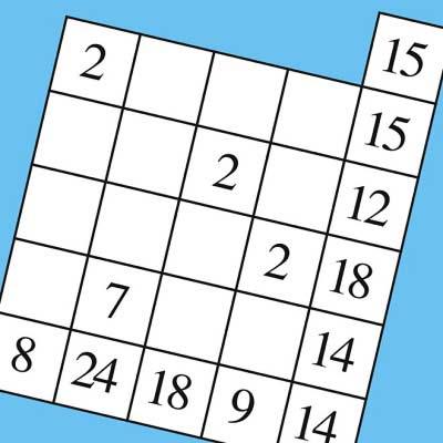 Cross Number